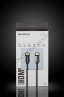 Sonorous HDMI Cable black 3,0m