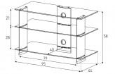 Sonorous TV-Rack, TV 40 inch - Sonorous - PL 3105-C-HBLK